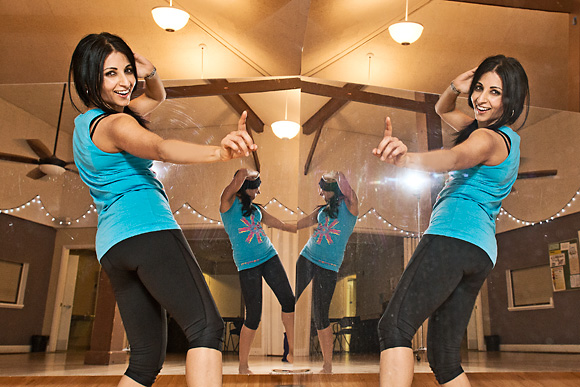 Anuja Rejendra at Bollyfit