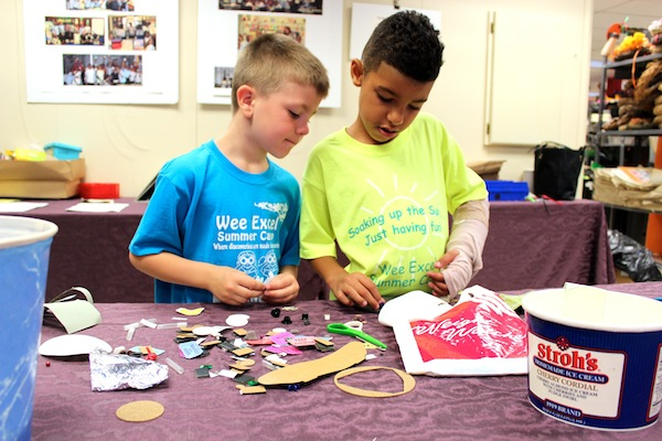 Arts & Scraps puts recycled items in the hands of kids to create their own art