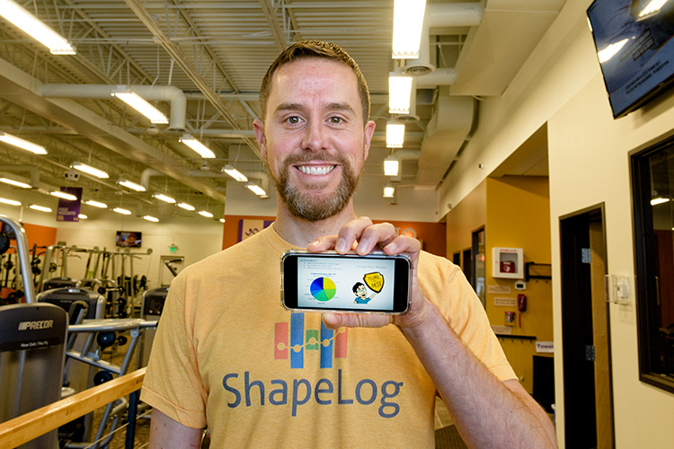 Brian Hayden of ShapeLog at Anytime Fitness in Ypsilanti
