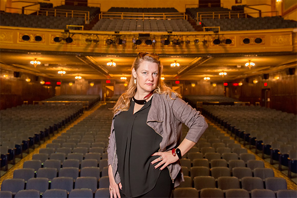 Chrisstina Hamilton at the Michigan Theater