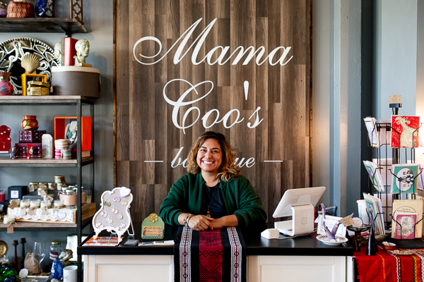 Lana Rodriguez, owner of Mama Coo's Boutique