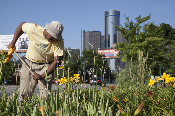Greening of Detroit program helps unemployed harvest careers