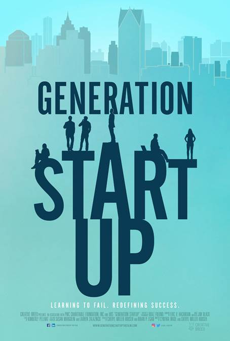 Generation Startup is directed by Cynthia Wade and Cheryl Houser.