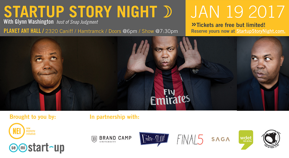 Glynn Washington to host first-ever Startup Story Night