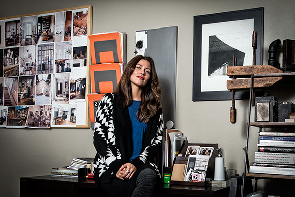 Leon Speakers Visual Director Anastasia Deinera In Her Office